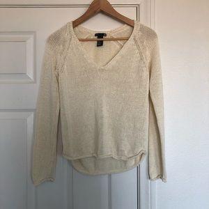 H&M Loose Knit Beige Sweater